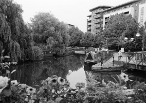 Canal in Manchester